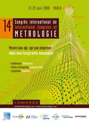 14th International Congress of Metrology - France